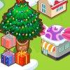 Silver Christmas Village