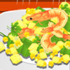 Spicy Corn with Shrimp Salad