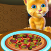 Ginger Cooking Pizza