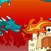Castle And Dragon