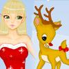 Elf And Rudolf Dressup