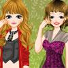 Paris Girls Dressup