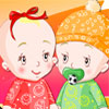 Baby Twins Dressup