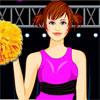 Cute Cheerleader Dressup