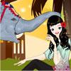Elephant Kiss Dressup