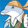 Playful Dolphin Dressup -