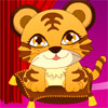 Baby Tiger Dressup -