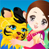 Baby Tiger Dress Up -