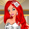 Silver Bride Dress Up -