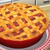 Rhubarb Pie - Internet Cooking Games