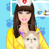 Barbie Pet Doctor - Online Barbie Fashion Games