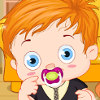 Baby With Teddy Bear - Baby Dress Up Games