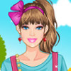 Barbie's Childish Style - Childish Fashion Dress Up Game