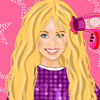 Miley Cyrus Hairstyle - Celebrity Hairstyling Games