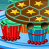 Turtle Cupcakes - Online Cupcake Cooking Games