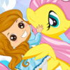 Rainbow Pony Ride - Free Skills Games For Girls