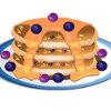 Blueberry Pancakes - Pancake Cooking Games