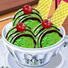 Green Tea Ice Cream - Ice Cream Cooking Games