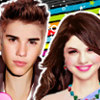Selena And Justin - Selena Gomez Makeover Games