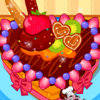 Cute Heart Cake - Cake Cooking Games For Girls