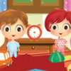 Twins At School - Clean Up Room Games
