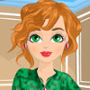 Animal Print Fan - Beauty Facial Makeover Games