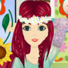 Flower Power Beauty - Flower Power Makeover Games