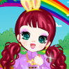 Cute Bunny Girl - Baby Doll Dress Up Games