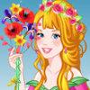 Gorgeous Flower Princess - Flower Princess Dress Up Games