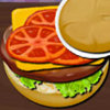 Crispy Chicken Burger - Burger Cooking Games