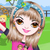 Fly A Kite - Girl In The Park Dress Up Games