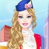 Barbie Flight Attendant - Online Barbie Fashion Games