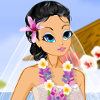 Hawaiian Love Story - Wedding Dress Up Games Online