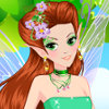 Green Forest Fairy - Online Fairy Dress Up Games
