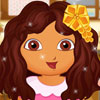 Dora's First School Day - Dora Makeover Games
