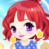 Girl With Parasol - Online Games For Girls