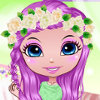 Pretty Flower Bride - Play Bride Dress Up Games