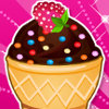 Ice Cream Cone Cupcakes - Ice Cream Cooking Games