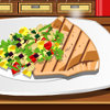 Swordfish With Veggies - Cooking Games For Girls