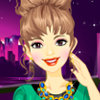 Chunky Choker Necklace - Play Free Make Up Games