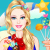 Barbie In Candyland - Free Barbie Dress Up Games