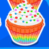 Rainbow Clown Cake - Cake Cooking Games For Girls