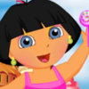 Dora In Candyland - Free Doll Dress Up Games