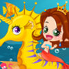 Mermaid And Seahorse - Fantasy Dress Up Games