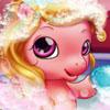 Baby Pony Bath - Free Animal Caring Games