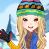 Snowtubing Girl - Winter Dress Up Games Online