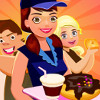 Doughnuts Cafe - Free Food Serving Games