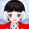 Snow Angel - Winter Dress Up Games