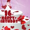 16th Birthday Cake - Cake Cooking Games