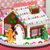 Lovely Gingerbread House - Free Cooking Games Online